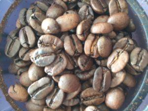 秋田コーヒーの豆の写真