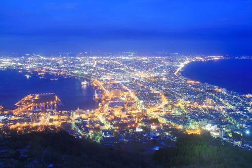 函館のきれいな夜景