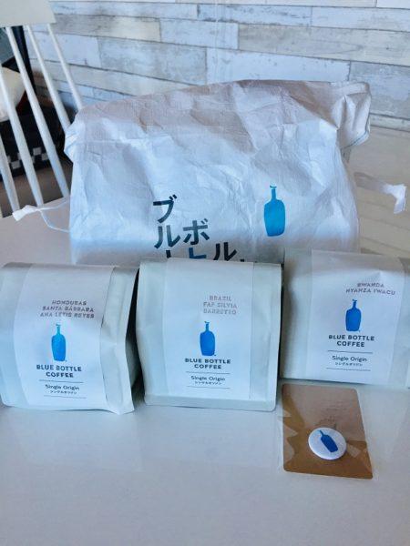 ブルーボトルコーヒーギフトのパッケージ