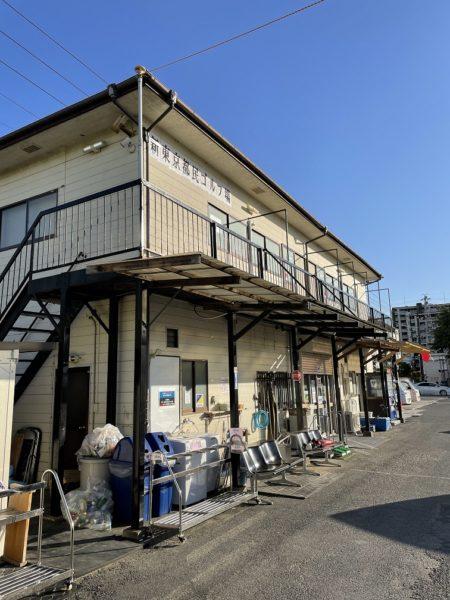 新東京都民ゴルフ場のクラブハウス